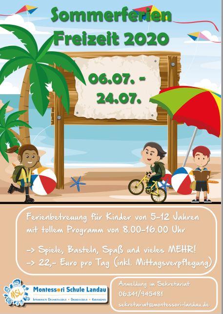 Sommerferienbetreuung 2020